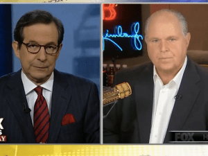 You knew the Republicans were in serious trouble when the first guest on the right-wing show was Rush Limbaugh, the radio oracle who has done a swell job of bringing angry white men into the party.