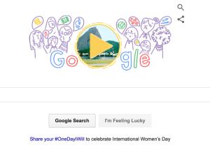 Google's International Women's Day 2016 Doodle