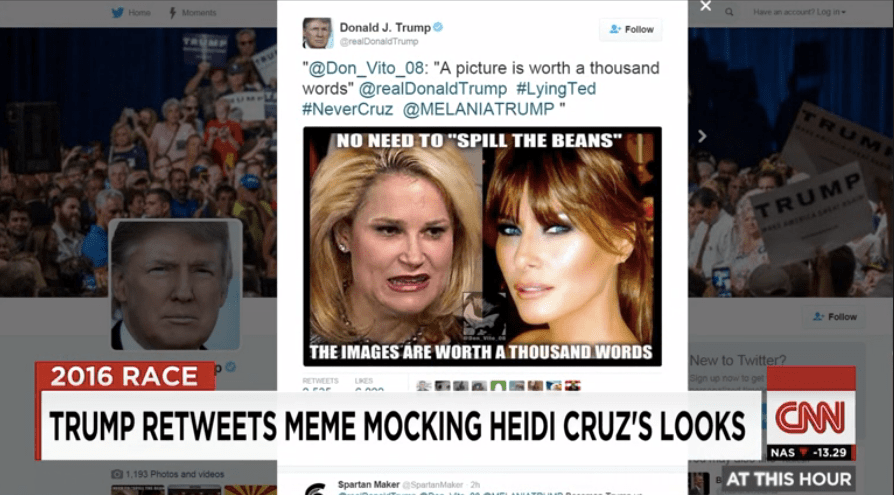 Real Lives of Republican Wives: Trump and Cruz Trade Twitter Punches