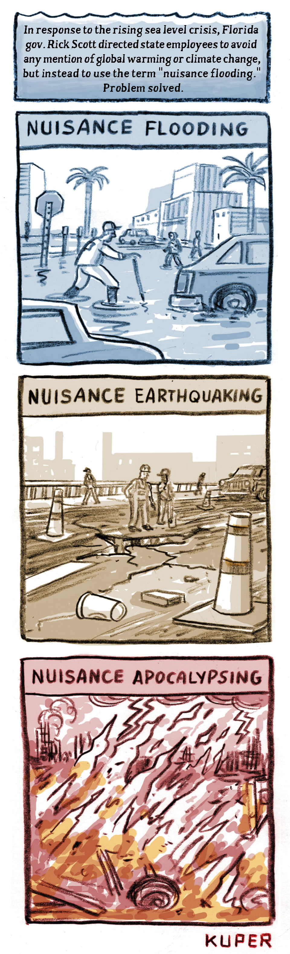 The 'Nuisance Flooding' Unnatural Disaster