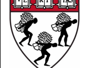 This shield started appearing on campus as a satire of the original shield.