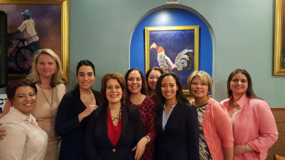 In Perth Amboy, Diaz Hosts 'Power Lunch' Fundraiser for NJ Women