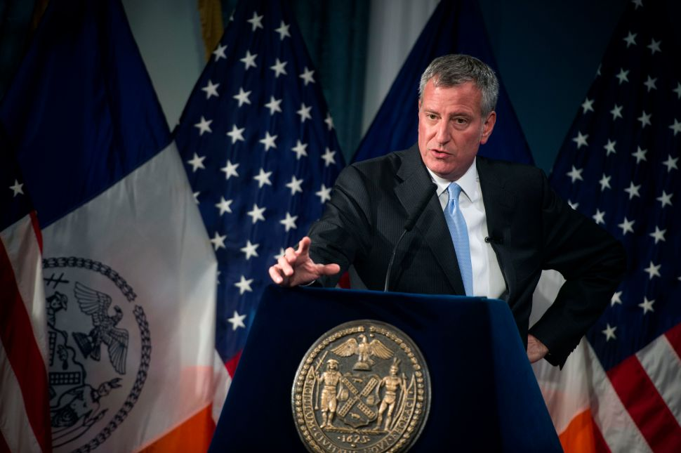 De Blasio Didn't Go to Atlantic Terminal After LIRR Crash Because Injuries Were Minor