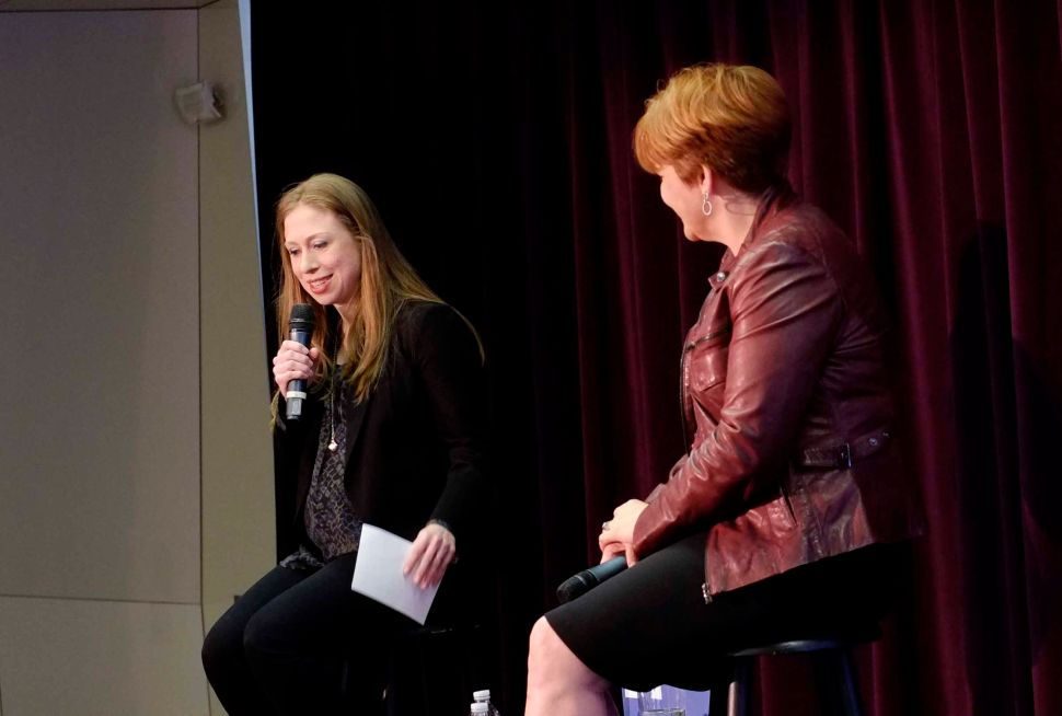 Chelsea Clinton Gets Personal At Downtown LGBT Center