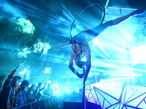 The Midnight Experience mixes aerial dance and rock n' roll