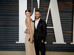 Really insanely beautiful couple Behati Prinsloo and Adam Levine are selling their Soho loft.