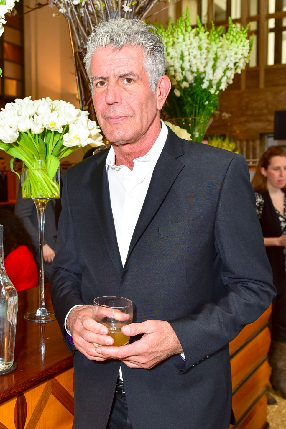 Exclusive: Anthony Bourdain Talks Whisky, Origami & Benito Mussolini