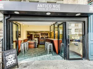 The Antico Noè sandwich shop, opened by partners Michael Grant and Vinny Dautaj.