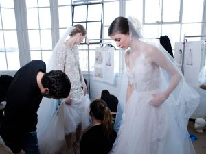 Backstage brides
