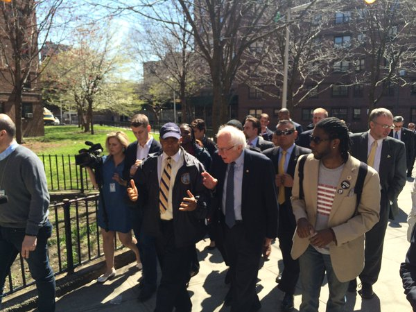 Bernie Sanders Promises Massive Federal Investment in Public Housing
