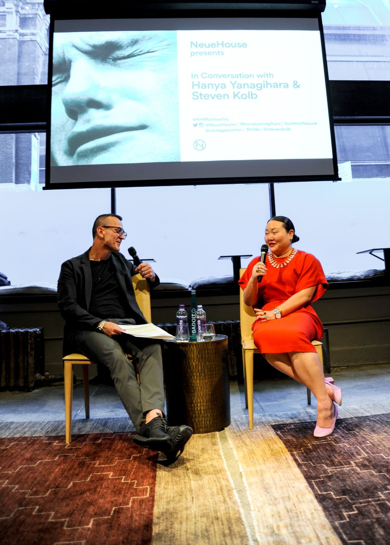 CFDA's Steven Kolb Chats 'A Little Life' With Author Hanya Yanagihara