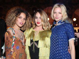 Cleo Wade, Jemima Kirke and Annabelle Dexter-Jones.
