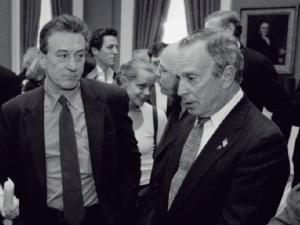 Robert De Niro and Michael Bloomberg.