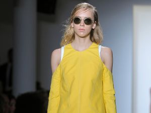 Silhouette shades on the runway