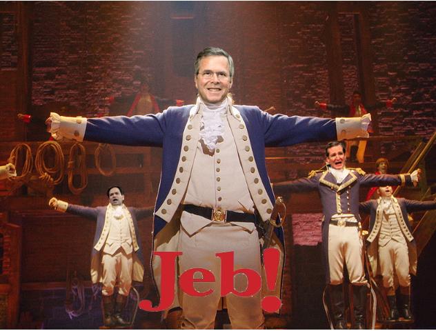 89 People Wrote a Crowdsourced 'Hamilton' Parody About Jeb Bush