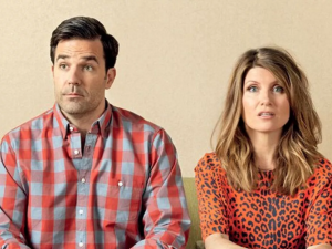 Rob Delaney and Sharon Horgan in Catastrophe.