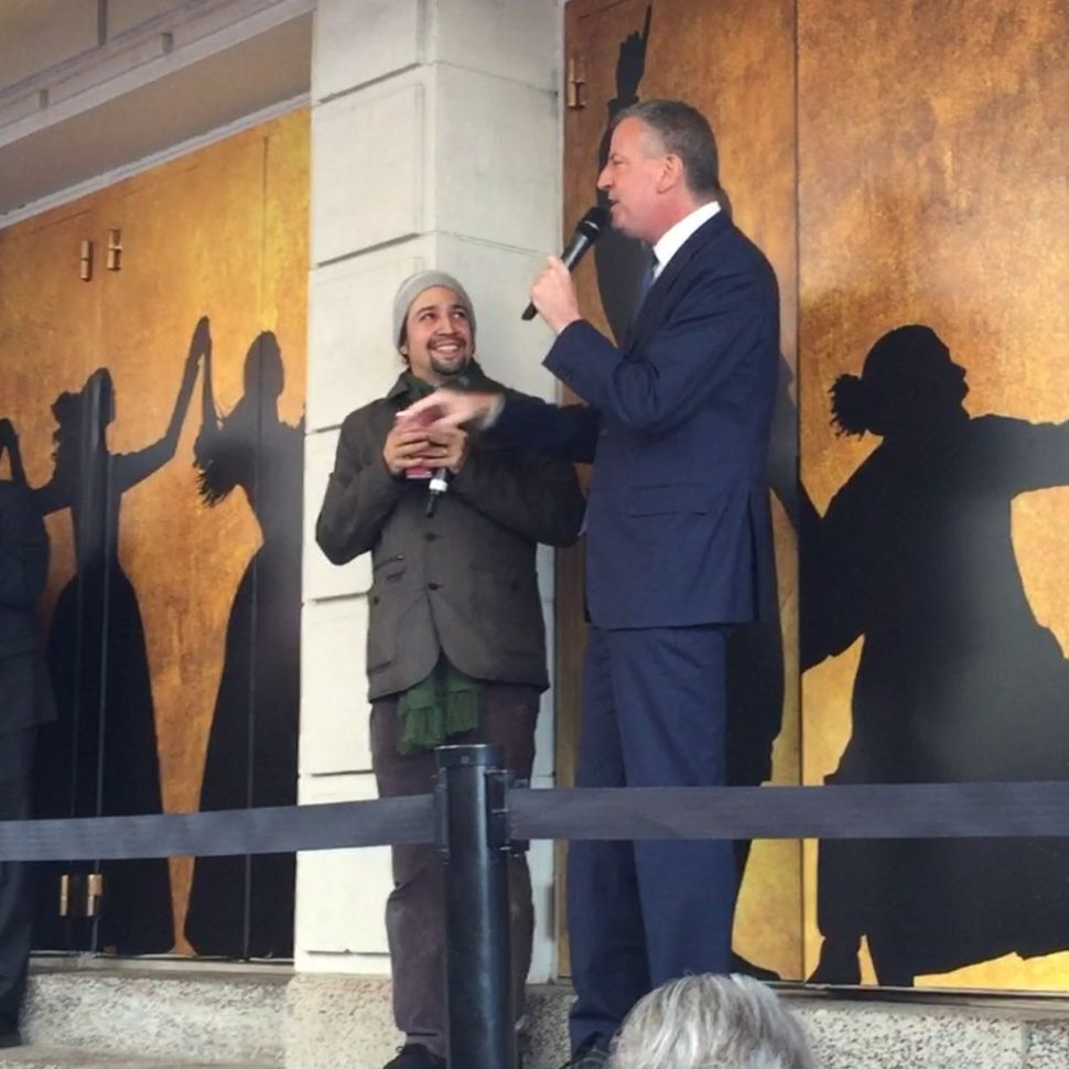 NYC Mayor Brought 'Hamilton' Composer Tea to Get Him to Come to Work