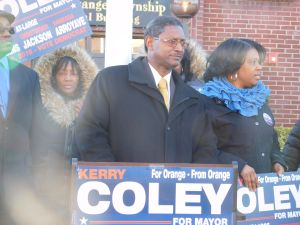 Coley is a candidate for mayor in Orange.