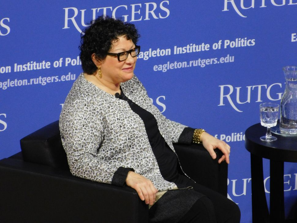 Supreme Court Justice Sotomayor Visits Rutgers to Discuss Life and Career