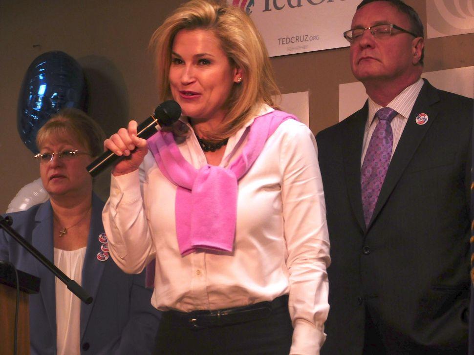Heidi Cruz Visits New Jersey