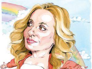 Gabrielle Bernstein (Illustration: Paul Kisselev for Observer)