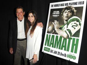 It looks like New York Jets legend Joe Namath gave his daughter, Jessica Namath, a lovely wedding gift.