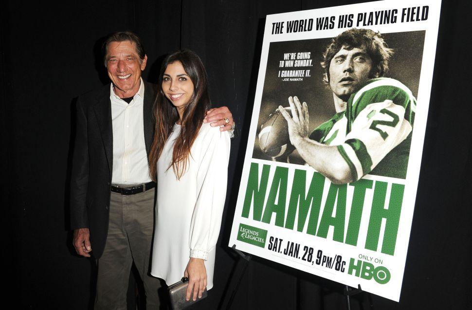 Touchdown! New York Jets Legend Joe Namath Scores a Duplex