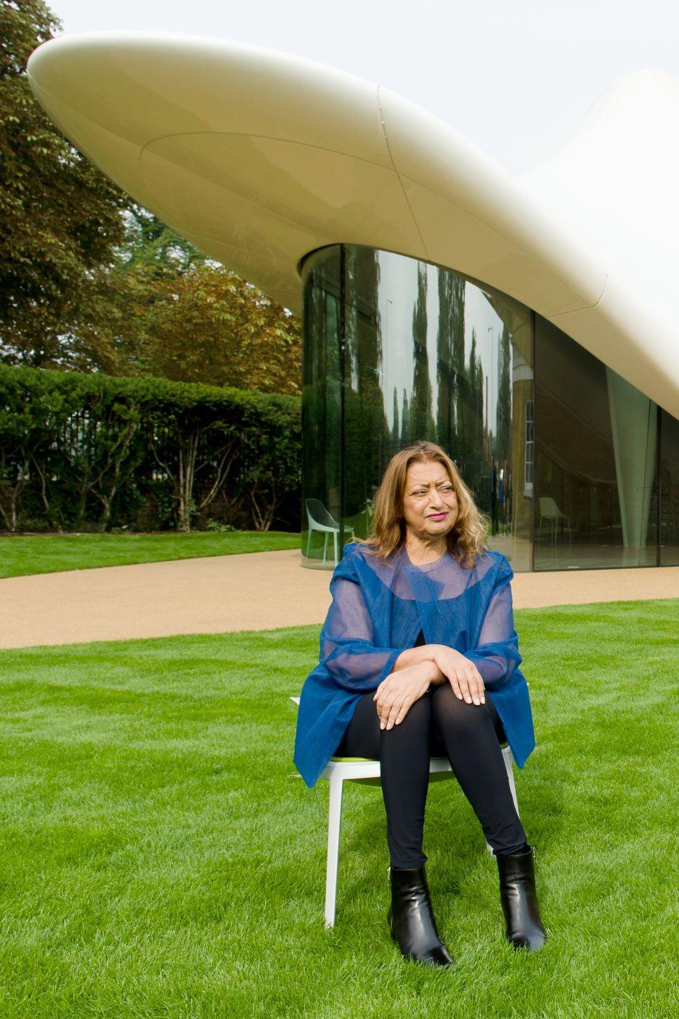 Zaha Hadid's Soft Side