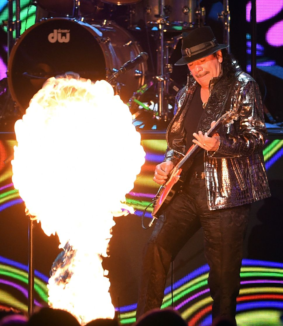 Carlos Santana Gets the Band Back Together for His Best Record in Years