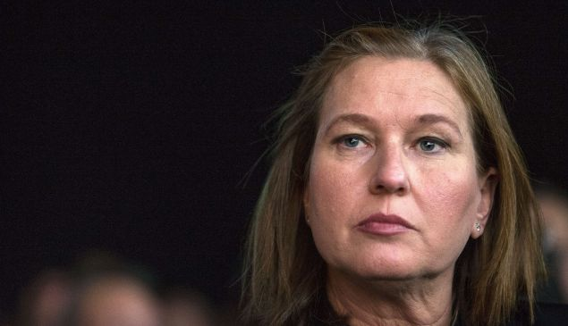 Former justice minister and HaTnuah party leader Tzipi Livni attends an Economic Conference on December 24, 2014 in the Israeli Mediterranean Coastal city of Tel Aviv.