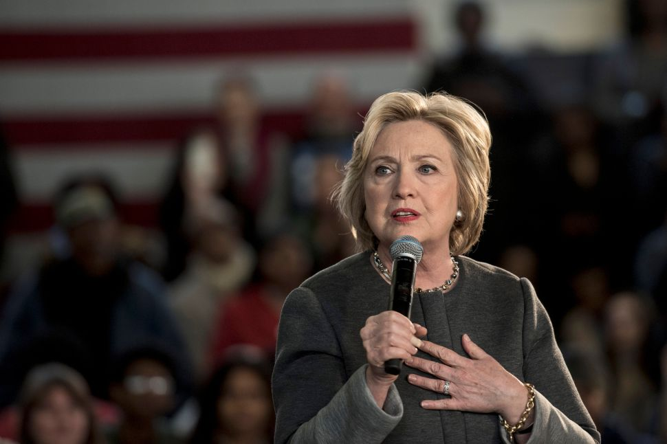 Yes, Hillary Has Lost Her Momentum