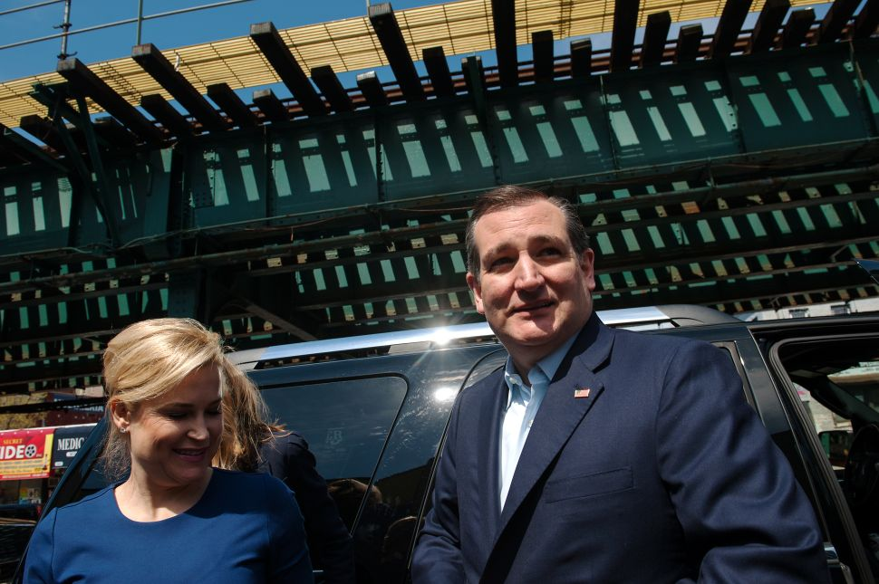 Ted Cruz's Wife: 'I Love the Smell of New York'