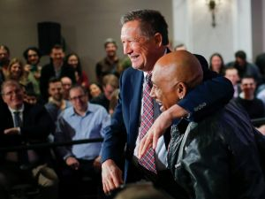 John Kasich with Montell Williams tonight.