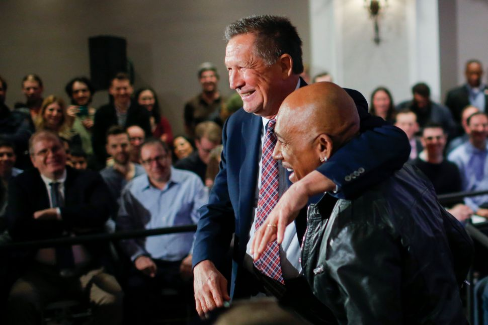 John Kasich Brings Montel Williams to Brooklyn—to Take On Donald Trump