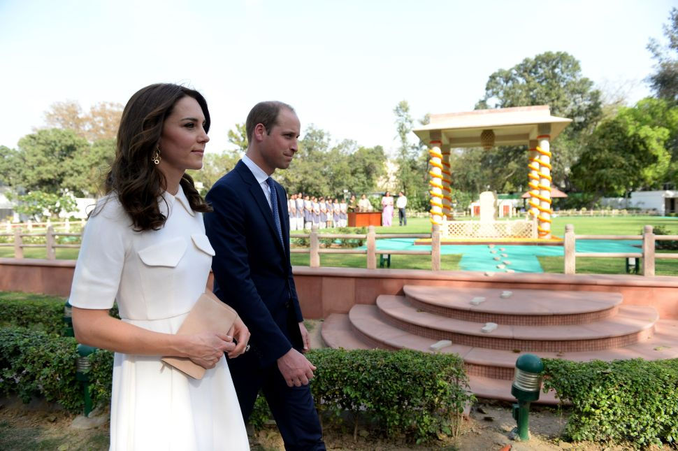 Kate Middleton's India Trip Is Off to a Stylish Start