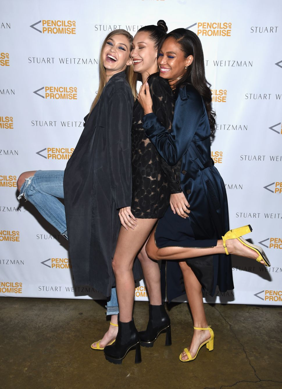 It's Not a Faux Pas: Gigi, Joan and Solange Wore Matching Yellow Sandals