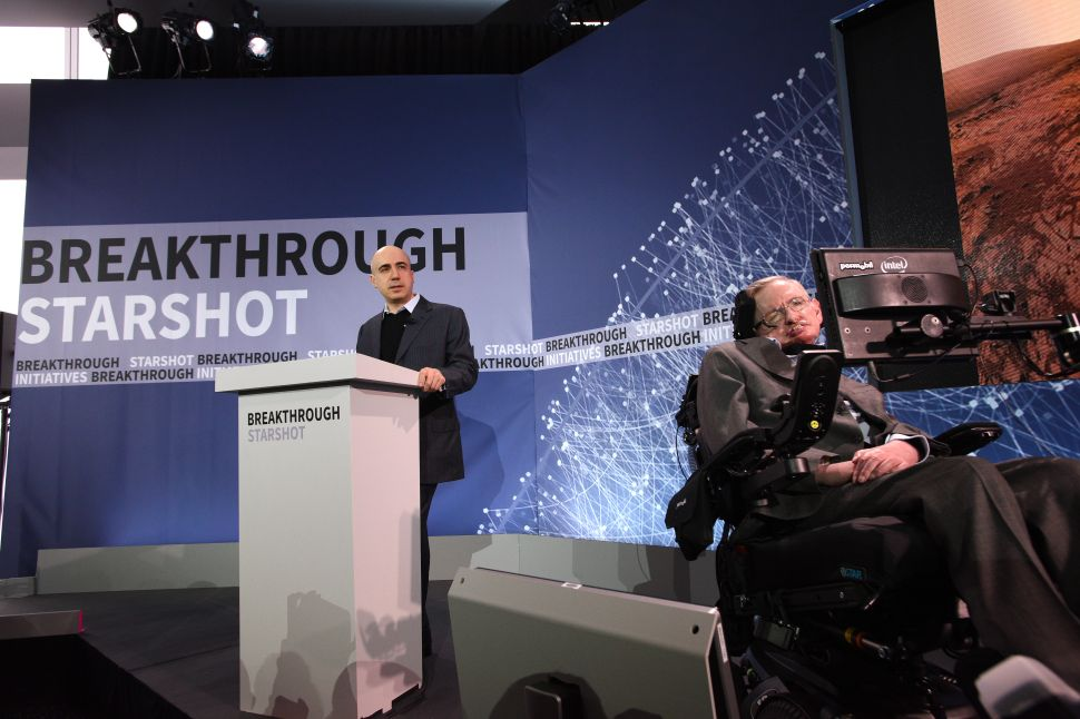 Stephen Hawking Teams Up With Russian Billionaire to Launch Mission to Alpha Centauri