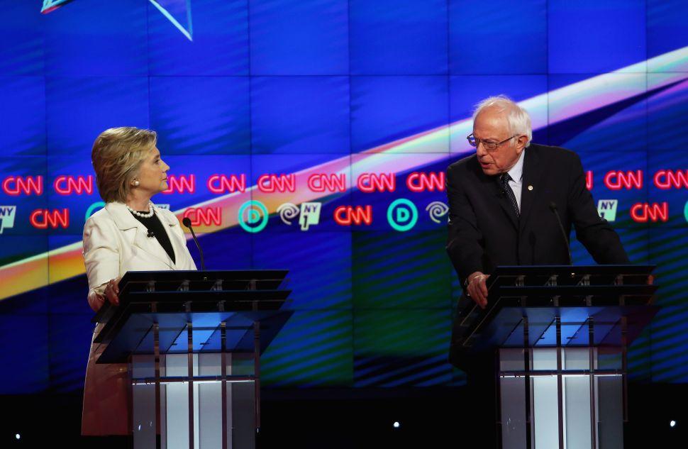 The Bernie Hillary New York Debate Was Predictably Ferocious