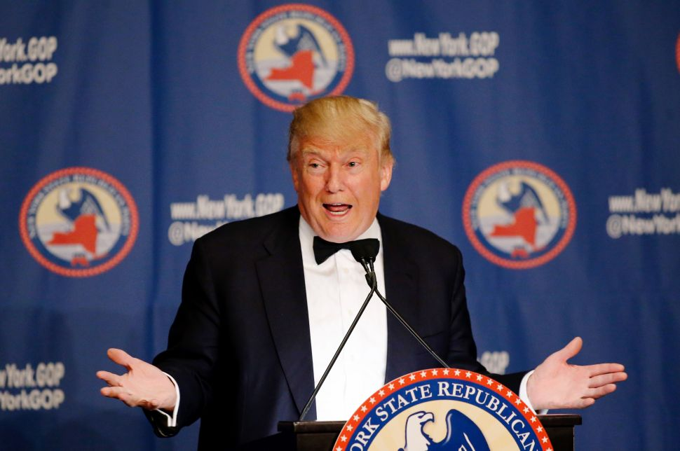 Donald Trump Looms Large Over New York GOP Gala