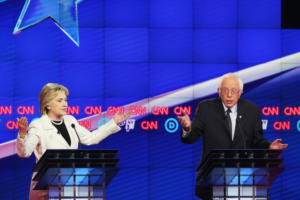 Clinton and Sanders: Brooklyn Brawl or Delightful Debate?