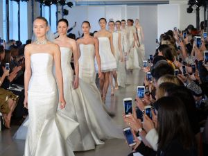 The Oscar de la Renta bridal show