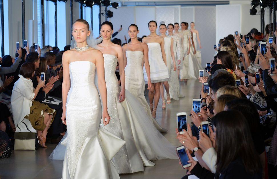 6 Things We Saw At the Spring 2017 Bridal Fashion Week