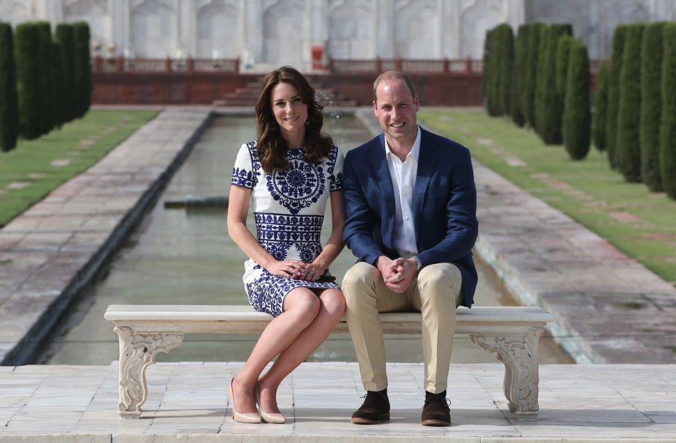Duchess Kate Recreated Princess Diana's Iconic Taj Mahal Photo