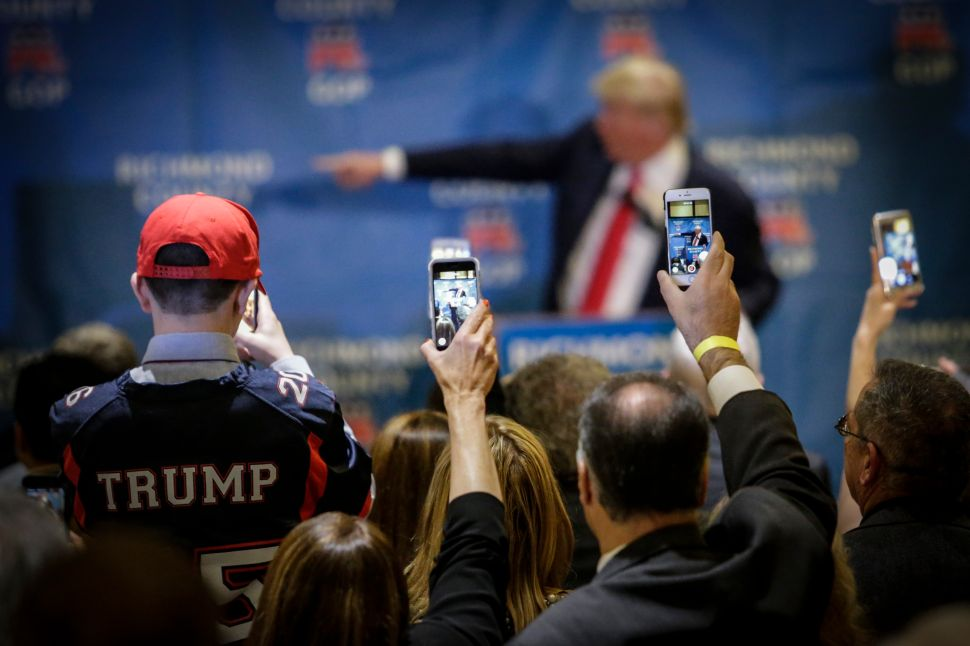The Donald Trump Show Comes to Staten Island
