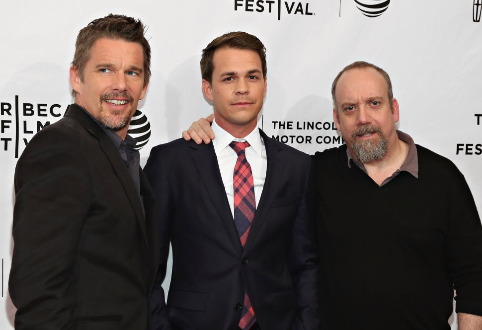 Ethan Hawke, Johnny Simmons and Paul Giamatti Discuss 'The Phenom'