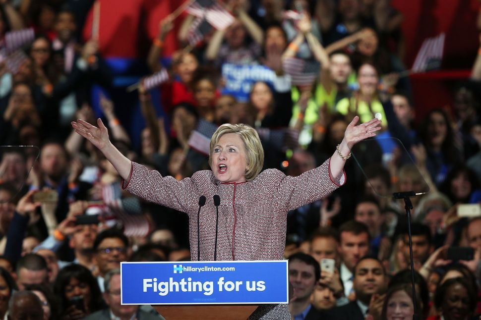 Hillary Clinton Just Beat Bernie Sanders in New York