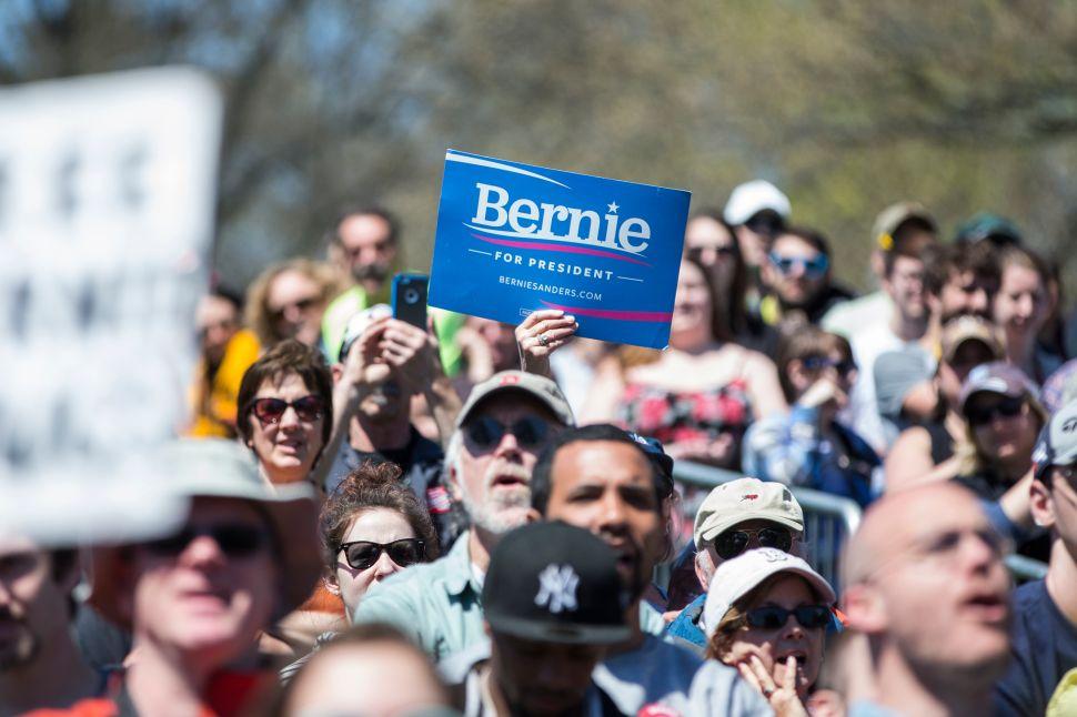 Bernie Believers Urge Independent Bid Over DNC Corruption
