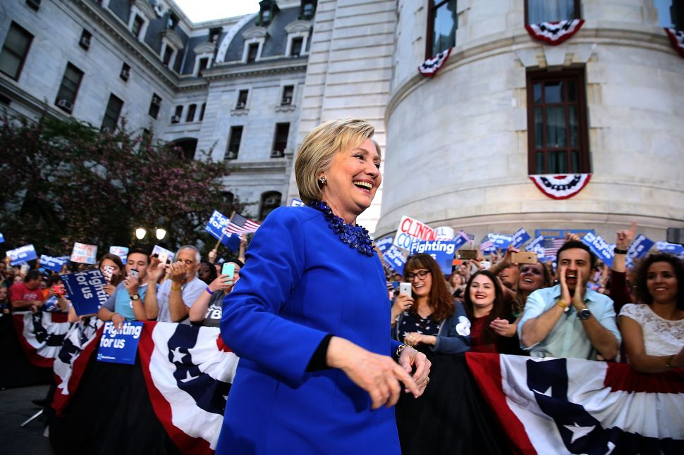 Hillary Clinton Continues Her Northeast Dominance