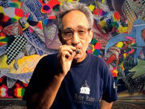 Artist Frank Stella.
