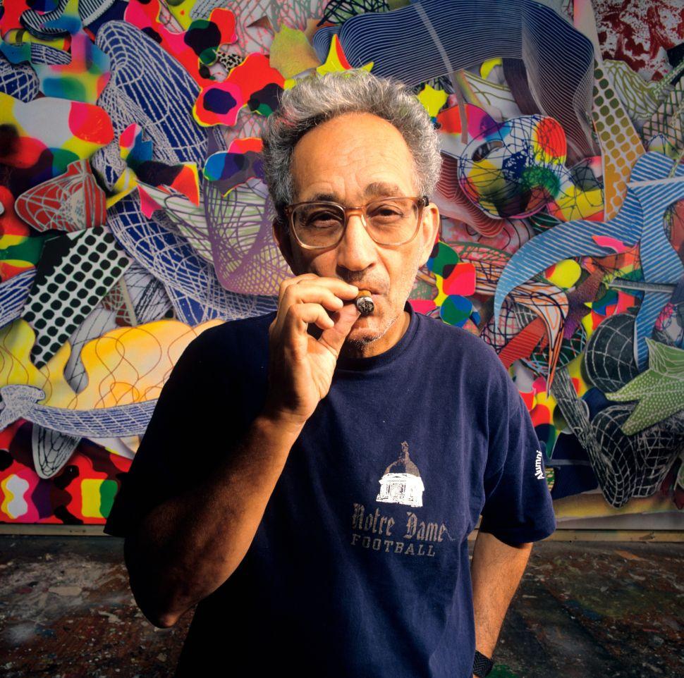 Frank Stella Is Secretly the Art World's Funnyman